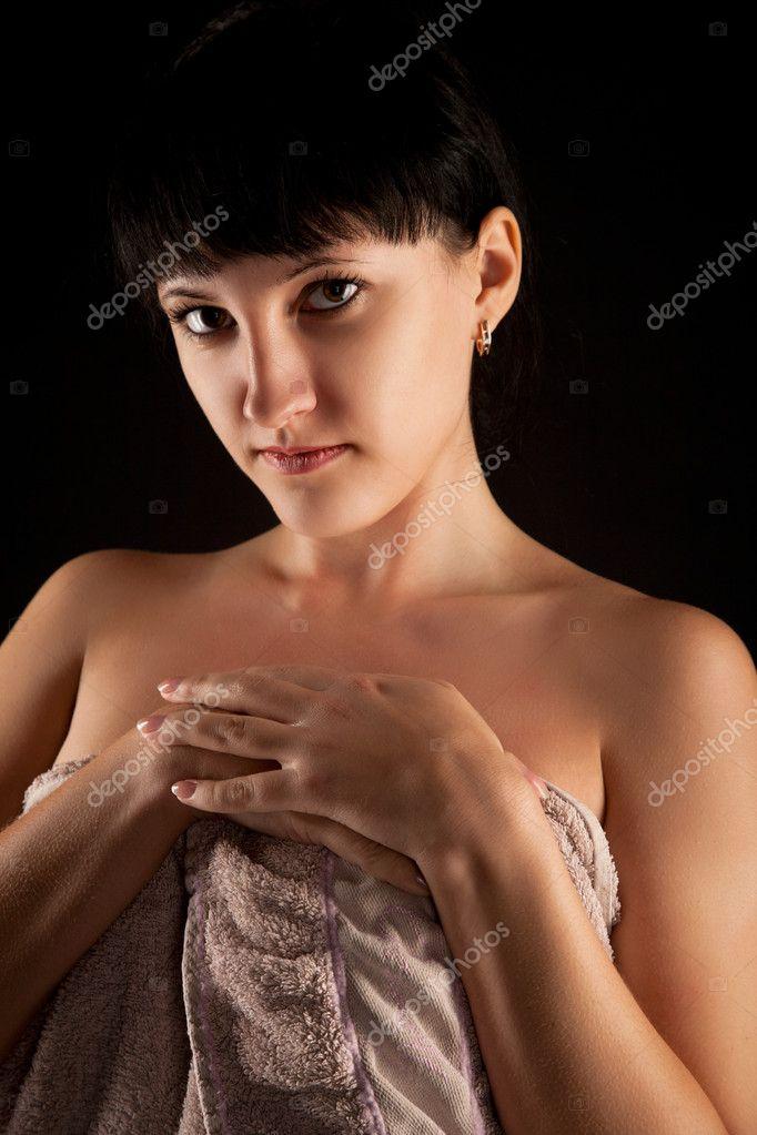 Teenager bionda nuda