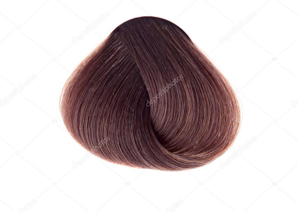 Strand Of Hair Color Stock Photo Ksena32 8940365