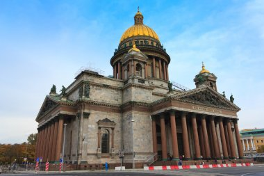 Isaac's Cathedral in St. Petersburg , Russia
