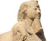 Photo The Alabaster sphinx of Memphis, Egypt