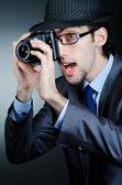 Paparazzi beim Fototermin