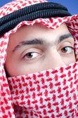 muž v arabské oblečení
