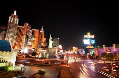 Night scenes from Las Vegas