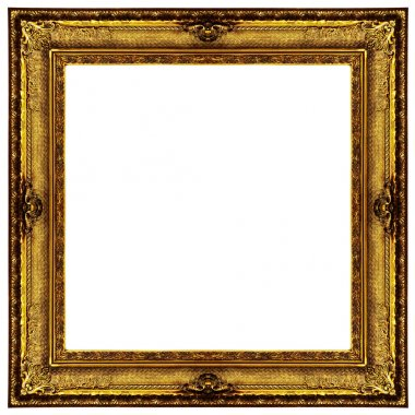 Gold antique frame