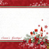 Photo Greeting card with Nutcracker