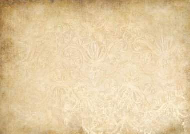 Vintage shabby background with lace