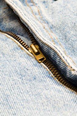 Denim Pants zipper