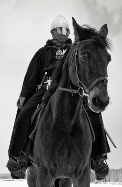 Medieval knight of St. John (Hospitallers)