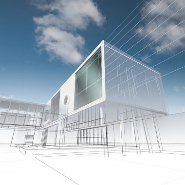 Business building structure