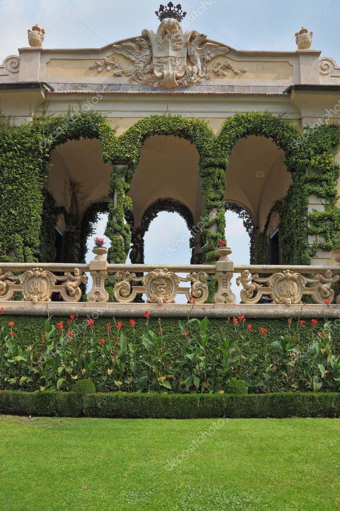 The villa Balbyanella