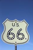 Fotografie dopravní značka na historické route 66