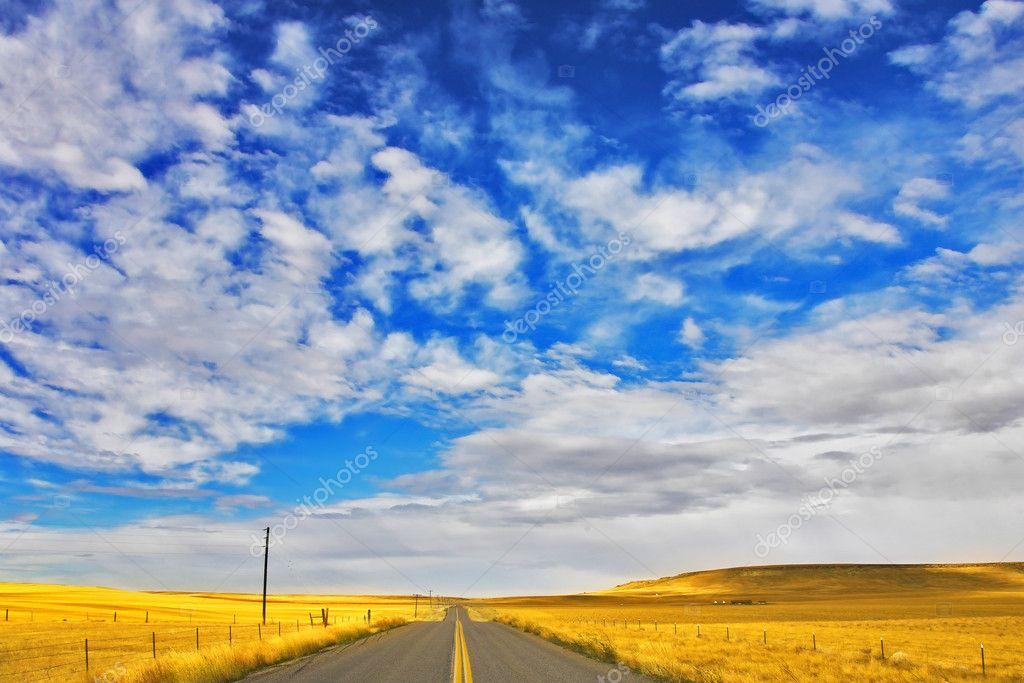 The American prairie in September