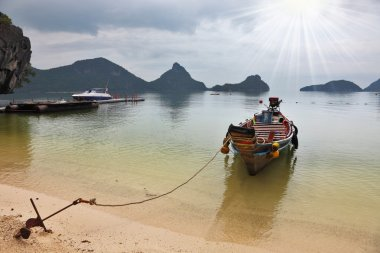 The famous Thai Longtail boat
