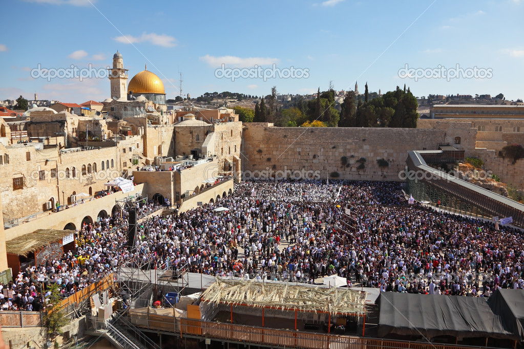 The most joyous holiday of the Jewish - Sukkot