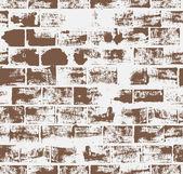 bezešvé vzor s cihlovou zeď