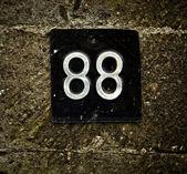 régi kőfal 88 számok.