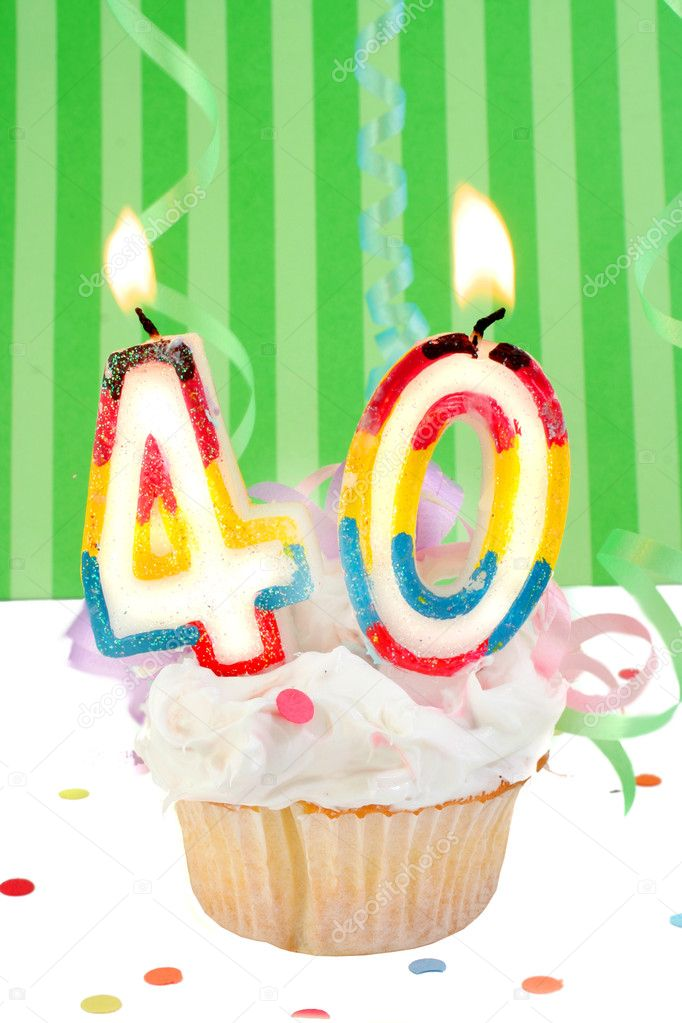 40th Birthday Stock Photo Gvictoria 7974173