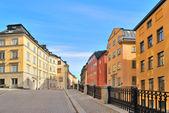 Stockholm. ulice starého města