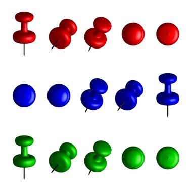 3d push pins