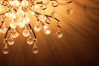 Metal lamp ceiling light