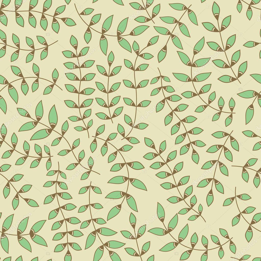 leaves wallpaper pattern - photo #40
