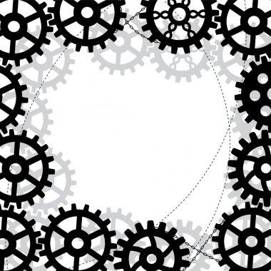 Gears frame