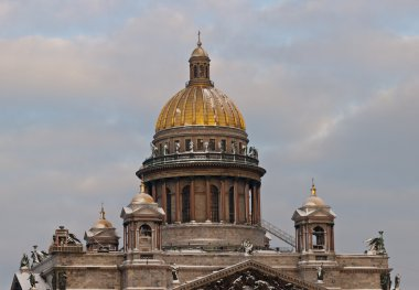 Domes of the Isakievsky cathedral