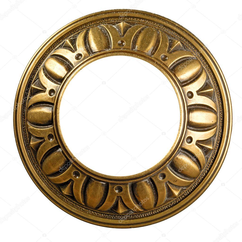 marco adornado de oro Vintage — Fotos de Stock © smaglov #8940388