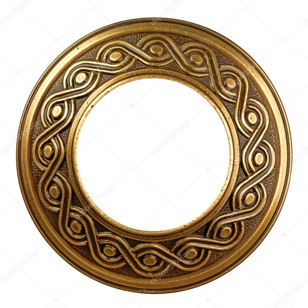 marco adornado de oro Vintage — Fotos de Stock © smaglov #8940410
