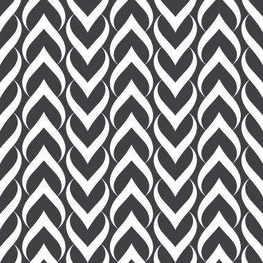 Seamless pattern. Hearts