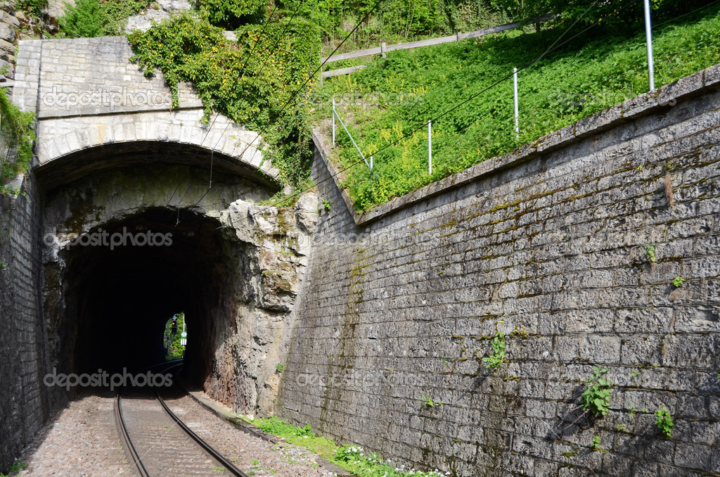 Railway tunnels. Used to transport goods