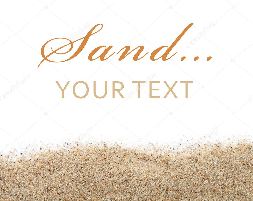 Sand scattering