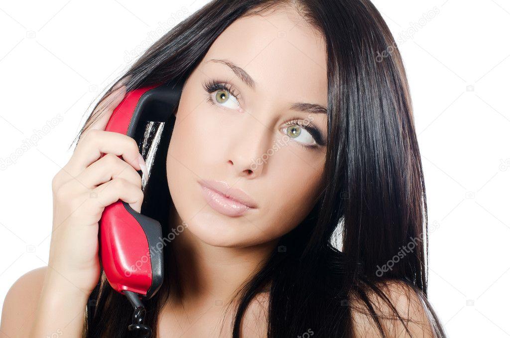 с разговор по проститутками телефону
