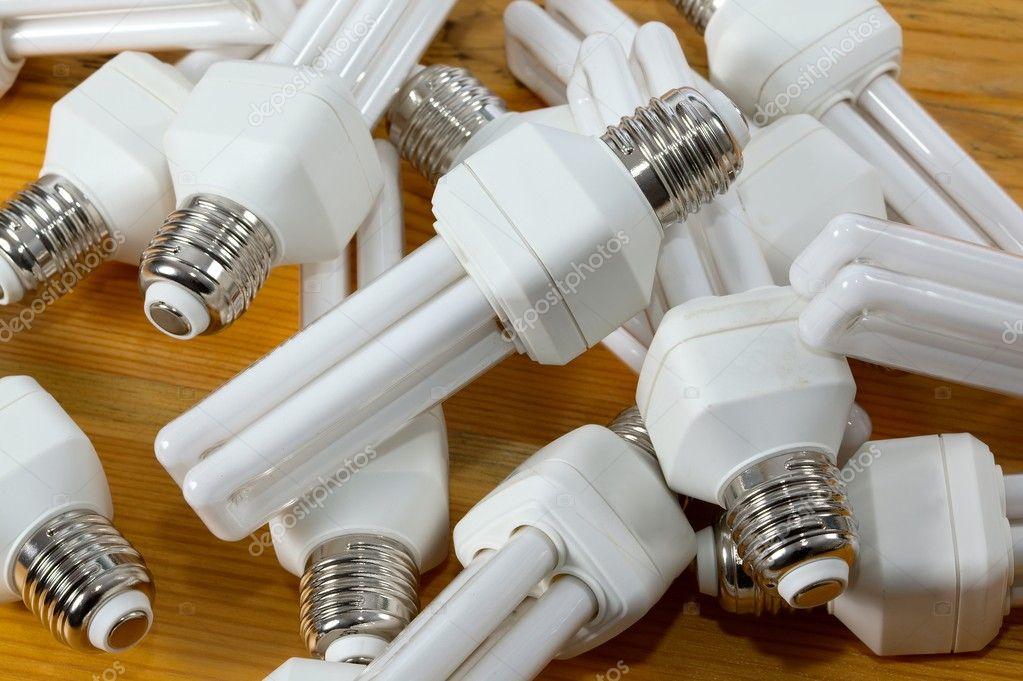 Bulbs in a pile