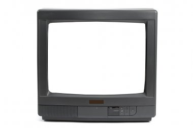 TV with blank screen