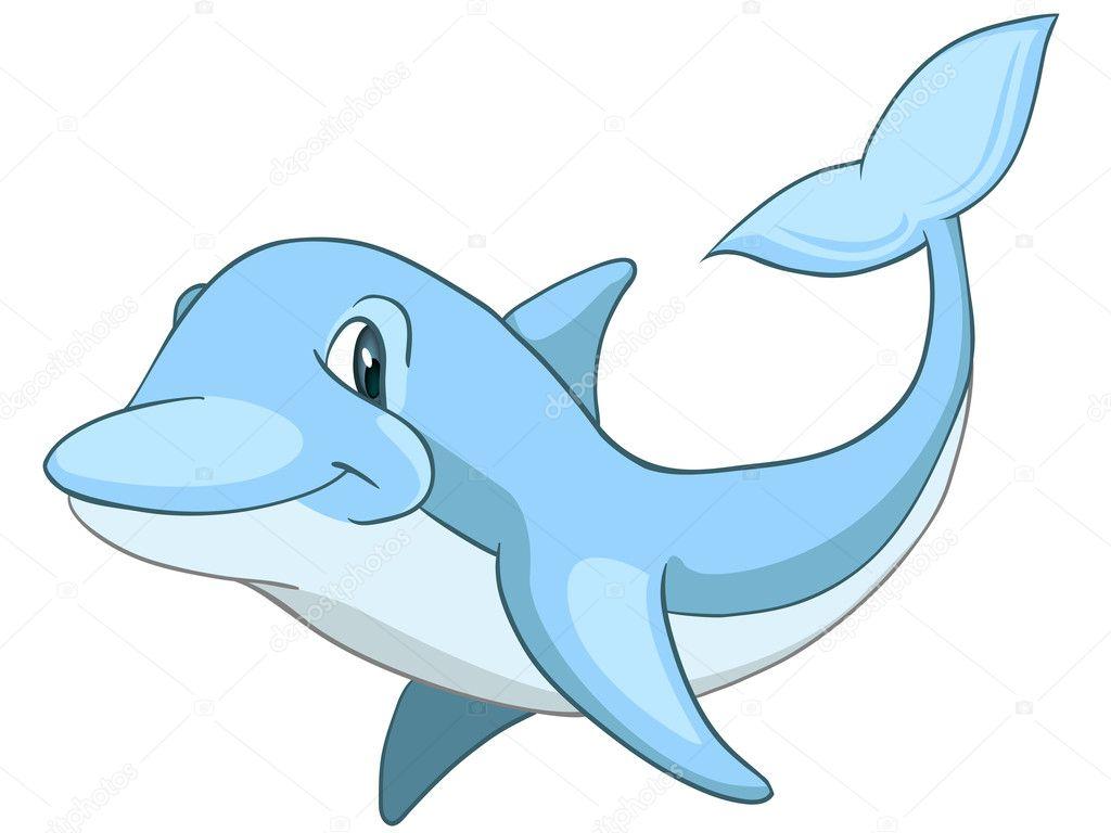 dolphin cartoon characters | cartoon character dolphin