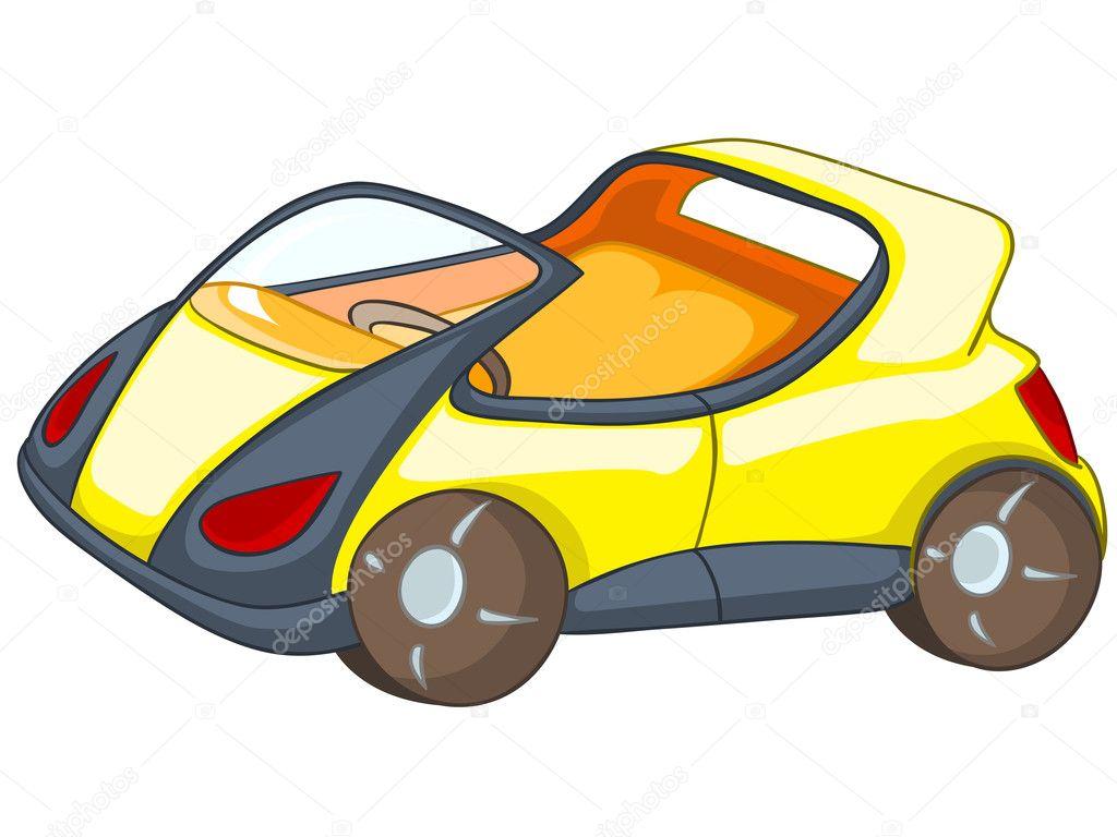 Mobil Kartun Stok Vektor C Visualgeneration 8717336