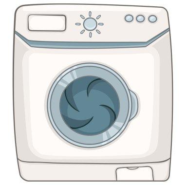Cartoon Appliences Washing Machine