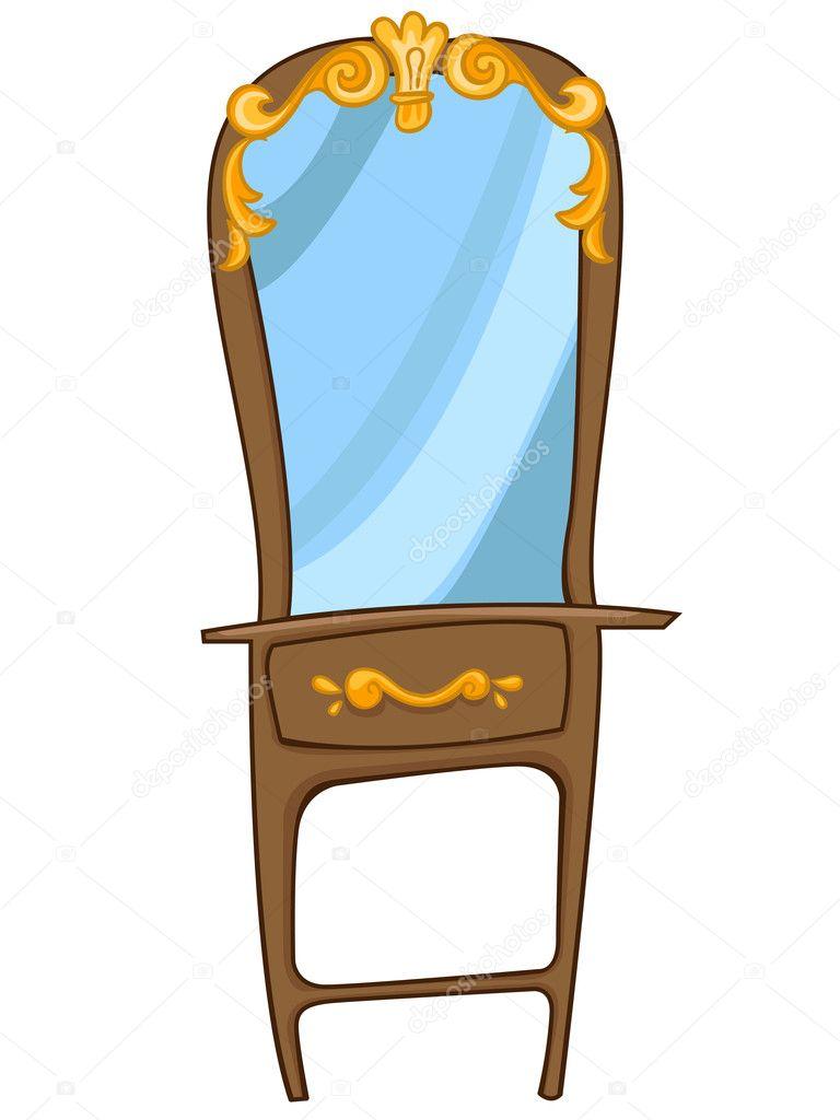 Cajonera De Dibujos Animados Muebles Para El Hogar Vector De  # Muebles Dibujos Animados