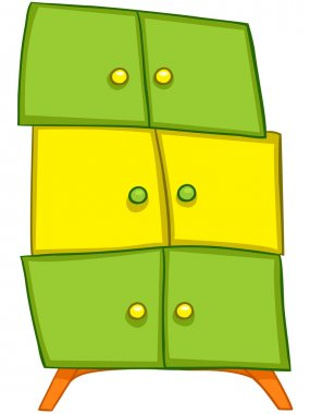 Cartoon Home Furniture Wardrobe