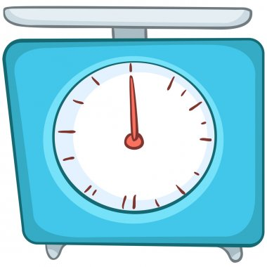 Cartoon Home Kitchen Scales