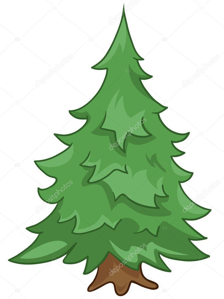 Imágenes Abetos Animados Dibujos Animados Naturaleza árbol Abeto