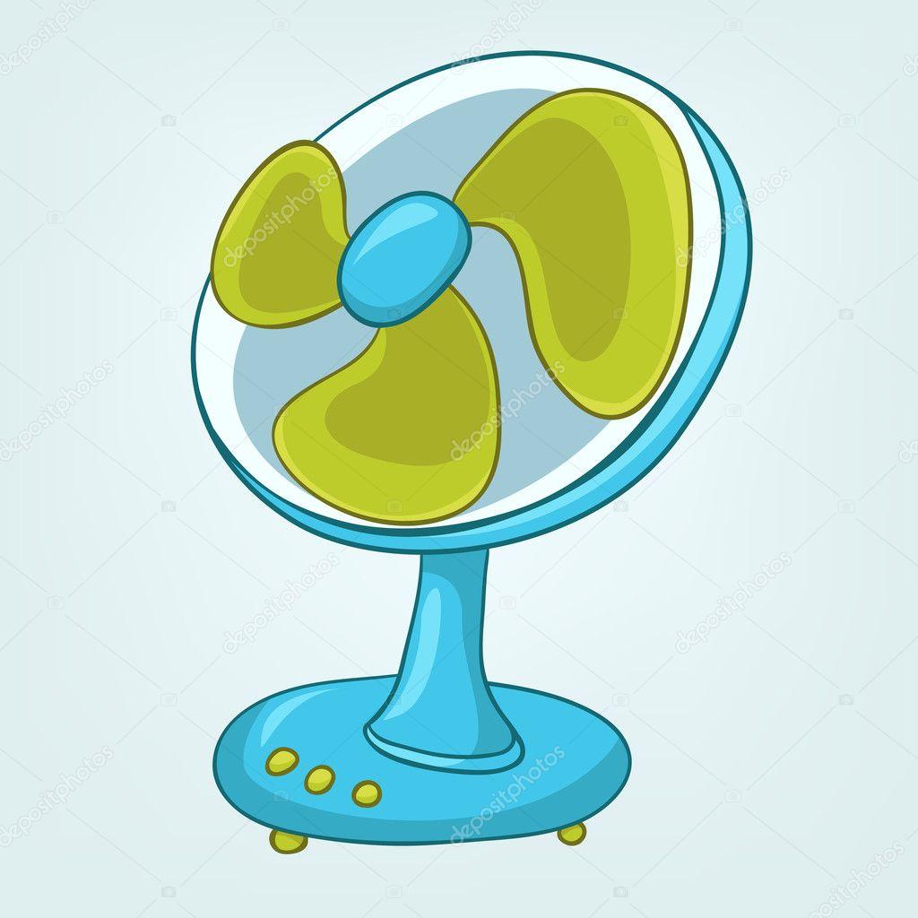 Ventilador appliences casa de dibujos animados archivo im genes vectoriales rastudio 9358793 - Fotos de ventiladores ...