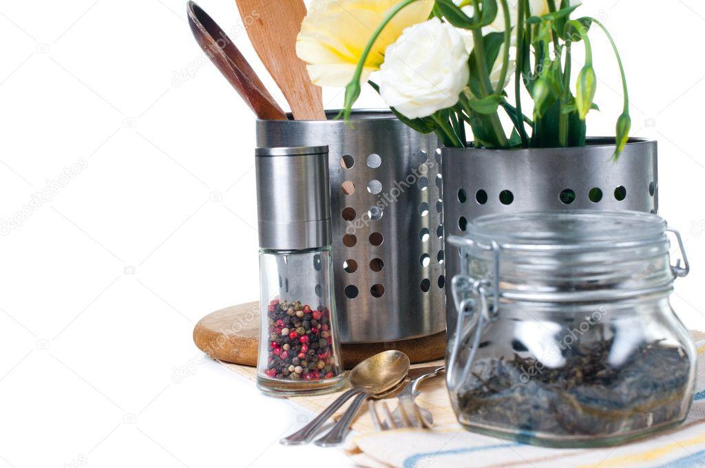 Oggetti di cucina utensili da cucina u2014 foto stock © manera #9781924