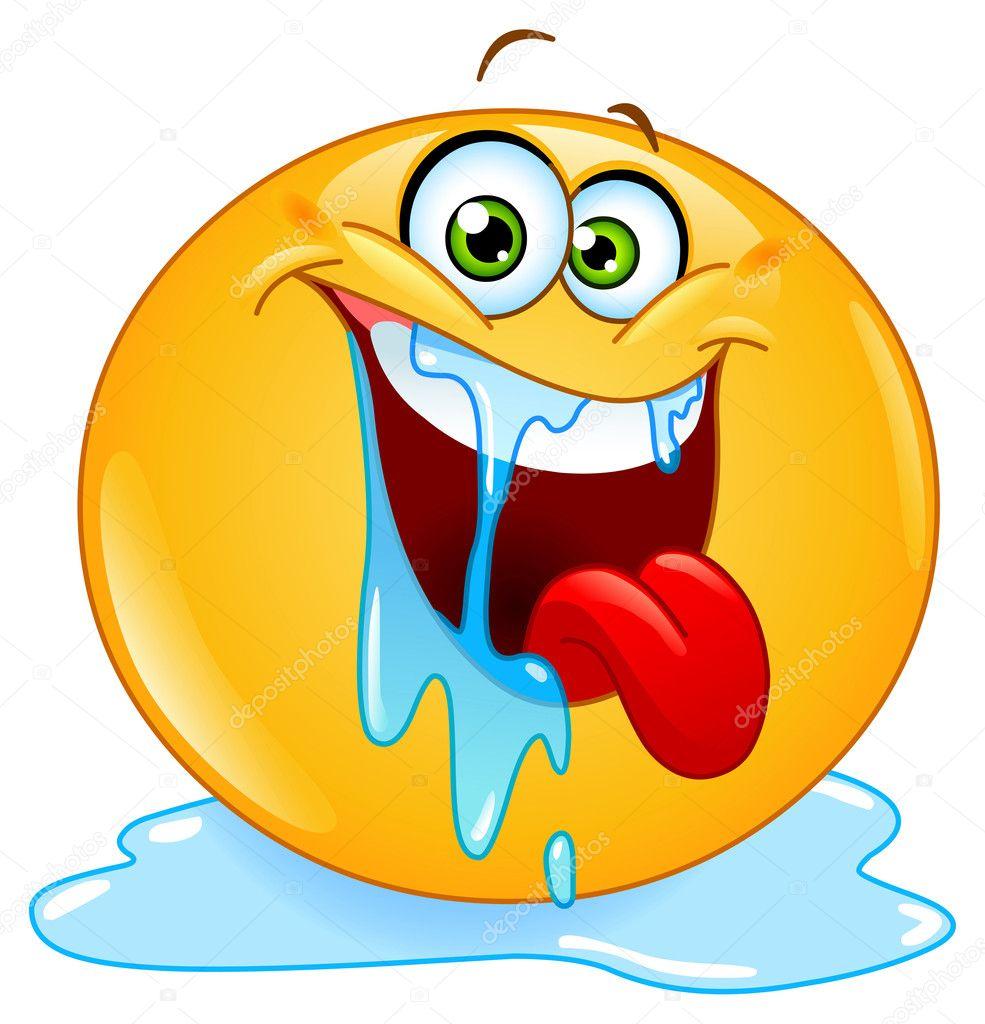 Drooling emoticon stock vector yayayoyo 9656692 drooling emoticon stock vector biocorpaavc