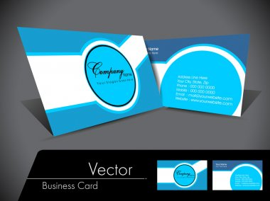 Simple abstact Vector Business Card,For more bsiness card of thi
