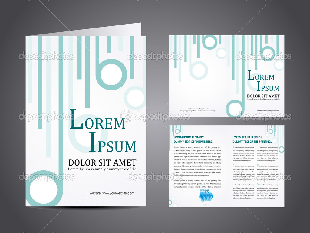 Vector illustration of catalog or a brochure design stock vector professional business catalog template or corporate brochure design with inner pages for document publishing print and presentation cheaphphosting Images