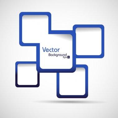 Abstract web design vector illustration