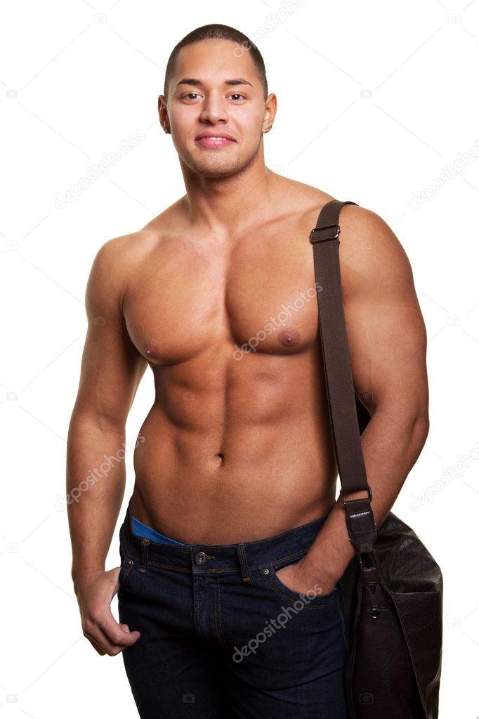 Сексуальные мужчины спортсмены борцы
