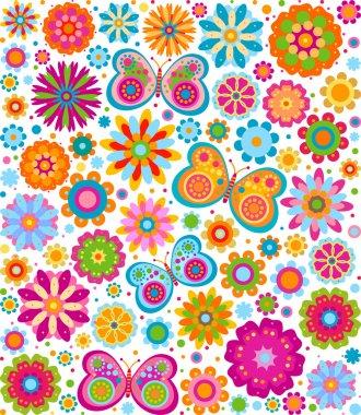 """Картина, постер, плакат, фотообои """"цветы фон постеры цветы"""", артикул 9218688"""